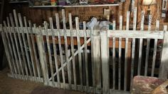 Tobacco stick fence #tobaccosticks