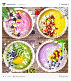 Smoothie Art Recipes: Our New Instagram Obsesssion