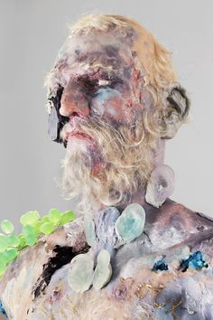 """Montreal-born, NY-based artist David Altmejd """"works in direct contact with psychic flux. Contemporary Sculpture, Contemporary Art, Theme Design, David Altmejd, 3d Art, Figurative Art, Installation Art, Dark Art, Oeuvre D'art"""