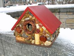 http://www.StonedBirdhouse.com Birdhouses for sale.  Free shipping until January 31, 2015