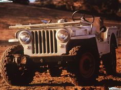 1942 Jeep CJ2A: even though I  is not a cj7 it is worthy of a post