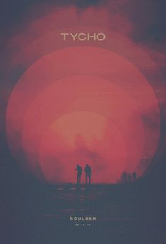 Scott Hansen from Tycho has done a nice poster as always!