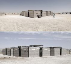 Low-Cost Refugee Camp Architecture Made From Sand | Co.Exist | ideas + impact
