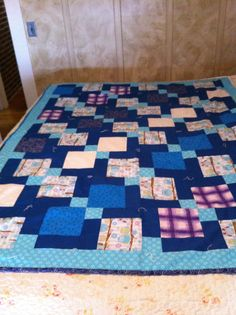 """Quilt for Mom """"D9Patch"""""""