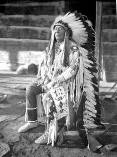 Sioux Chief. 1880