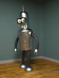 Bender is REAL!