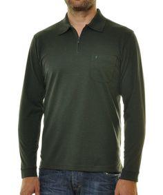 RAGMAN Poloshirt ab 34,95€. Poloshirt, Langarm, Mit Reißverschluss, Mit Brusttasche, Easy care Qualität bei OTTO