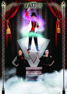 Yearbook Theme: Circus - Awards leader page