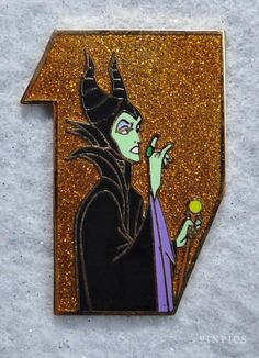 Pin 110090 - D23 Expo 2015 - Castle Collection - Maleficent