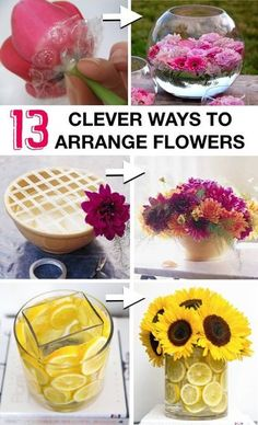 DIY a professional flower arrangement for a holiday table setting. Beautiful gif… DIY a professional flower arrangement for a holiday table setting. Beautiful gift to friends or neighbors for Christmas. Creative ways to arrange flowers like a pro! Pot Mason Diy, Mason Jar Crafts, Fleurs Diy, Deco Floral, Floral Design, Mason Jar Lighting, Holiday Tables, Diy Flowers, Fresh Flowers