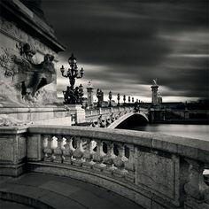 "Damien Vassart. ""Pont Alexandre III, study 2"", Paris, France, 2009"