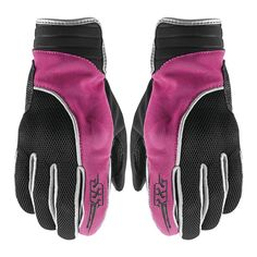 The Comin' In Hot mesh motorcycle gloves from Speed and Strength have a leather and mesh frame with a pre-curved race cut fit. The gloves feature molded high impact knuckle protectors and offer a hook and loop wrist closure for a secure and adjustable fit.  https://www.blackoakmotorcycle.com/collections/gloves/products/speed-strength-comin-in-hot-mesh-gloves-pink-black  #speedandstrength #ssgear #girlswhoride #ladyriders #bikerchicks #blackoakmotorcycle #rootedintheride