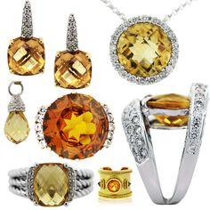 Citrine Jewelry for November