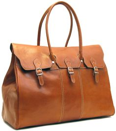 Venezia Italian Leather Travel Tote Bag - Fenzo Italian Bags Leather Duffle  Bag 958d1ba851411