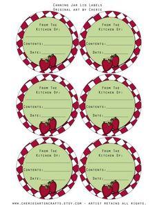Mason Jar Lid Labels Template New De 415 Bästa Free Printables Templates & Packaging Ideas Free Printable Gift Certificates, Printable Labels, Printable Cards, Free Printables, Home Canning Recipes, Canning Tips, Canning Jar Labels, Mason Jar Lids, Canned Food Storage