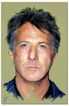 Dustin Hoffman by shahin