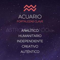 FORTALEZAS CLAVE ACUARIO Aquarius Zodiac, Astrology Zodiac, Signes Zodiac, Zodiac Star Signs, Gorillaz, Zodiac Quotes, Life Quotes, Mood, Cool Stuff
