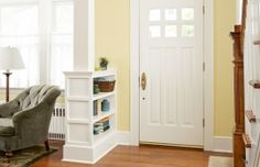 Weekend Remodel: Build a Columned Room Divider