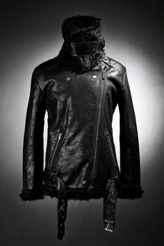 Cracked Coated Mustang Jacket