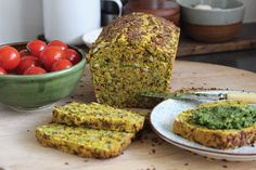 Turmeric, Goats Curd & Onion Seeded Loaf