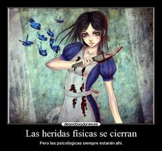 carteles alice madness returns desmotivaciones