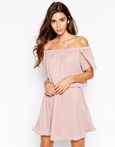 ASOS Gypsy Off Shoulder Dress with Short Sleeves on shopstyle.com