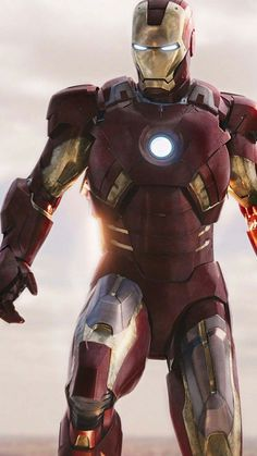 Iron Man Mark VII iPhone Wallpaper - iPhone Wallpapers