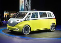 Volkswagen Brings Back The Bus As The Electric Volkswagen ID Buzz | if it's hip, it's here