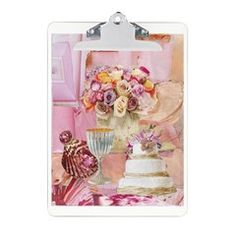 Shades of Pink Clipboard