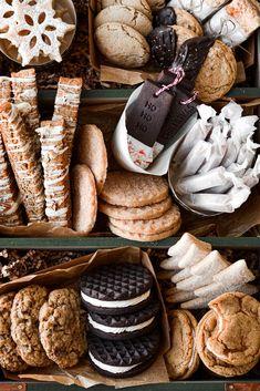 Christmas Cookies Gift, Christmas Dishes, Christmas Desserts, Christmas Treats, Christmas Baking, Christmas Cookie Exchange, Cookie Gifts, Food Gifts, Fun Foods To Make