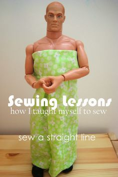 sew a straight line: Index of Sewing Lessons