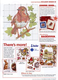 Gallery.ru / Фото #5 - The world of cross stitching 077 ноябрь 2003 + календарь - WhiteAngel