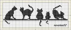 Crochet Cat Bookmark Pattern Perler Beads Ideas For 2020 Marque-pages Au Crochet, Chat Crochet, Tapestry Crochet, Crochet Bookmark Pattern, Crochet Cat Pattern, Crochet Bookmarks, Cat Cross Stitches, Cross Stitch Charts, Cross Stitch Patterns