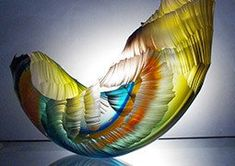 Gorgeous Glass Vessels by Graham Muir
