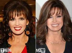 Marie Osmond then and now