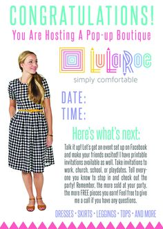 Lularoe Consultant Party Shop The Box Boutique Website Lula Roe