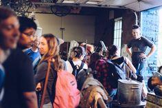 Visite de l'atelier de Glen LeMesurier Photo par: Jessica Moore