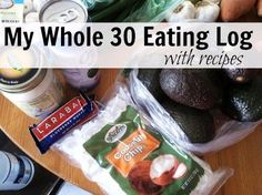 This is where I'm documenting my Whole 30 eating regiment as outlined in the book, It Starts with Food. For the next 30 days, I'll be following a gluten-free, grain-free, dairy-free, sugar-free, soy-free, alcohol-free diet. It's called a Whole 30.