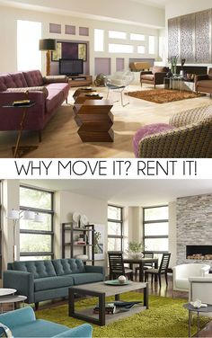 Did you know you can rent furniture from CORT? I wish I would have known before my big 700+ mile move! #CORTatHome #homesweethome #ad