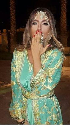 Moroccan #fashion #Caftan
