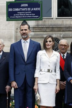 MyRoyals: Spanish State Visit to France, Day 2, June 3, 2015-King Felipe and Queen Letizia