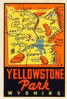 I desperately NEED to go here.  Yellowstone National Park.