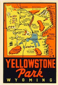 I desperately NEED to go here. Yellowstone National Park.