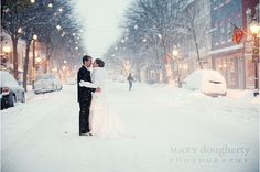 Gorgeous winter wedding