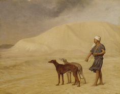 Jean-Léon_Gérôme_-_On_the_Desert_-_Walters_3734.jpg (1800×1415)