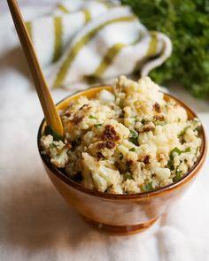 Bulgur and Cauliflower Salad