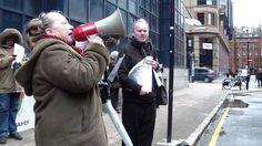 Anti-Atos/'Maximarse' Demonstration Glasgow - PART 2