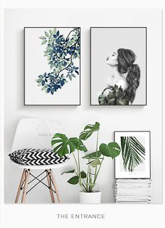 Living Room Art Collage Canvases 18 Ideas For 2019 Bedroom Murals, Deco Floral, Inspiration Wall, Living Room Art, New Wall, House Painting, Decoration, Wall Decor, Interior Design