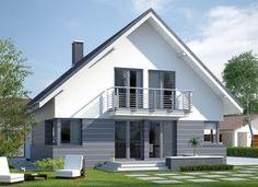 tynk na elewacji - Szukaj w Google Cabin House Plans, Architectural House Plans, Best Tiny House, Facade House, Cabin Homes, Home Fashion, Black House, Home Interior Design, Bungalow