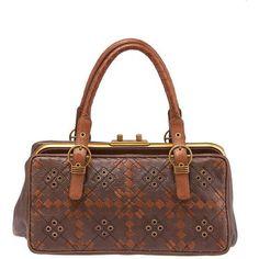Preowned 2000s Bottega Veneta Brown Leather Satchel (34.715 RUB) ❤ liked on Polyvore featuring bags, handbags, brown, genuine leather handbags, satchel handbags, brown satchel purse, brown leather purse and brown leather satchel